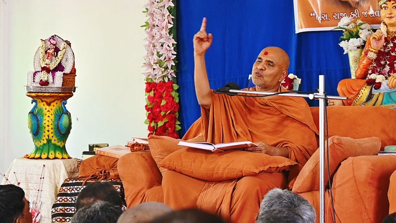 HH Swamishri Vicharan | Surendranagar Zone | 4 to 6 April, 2019