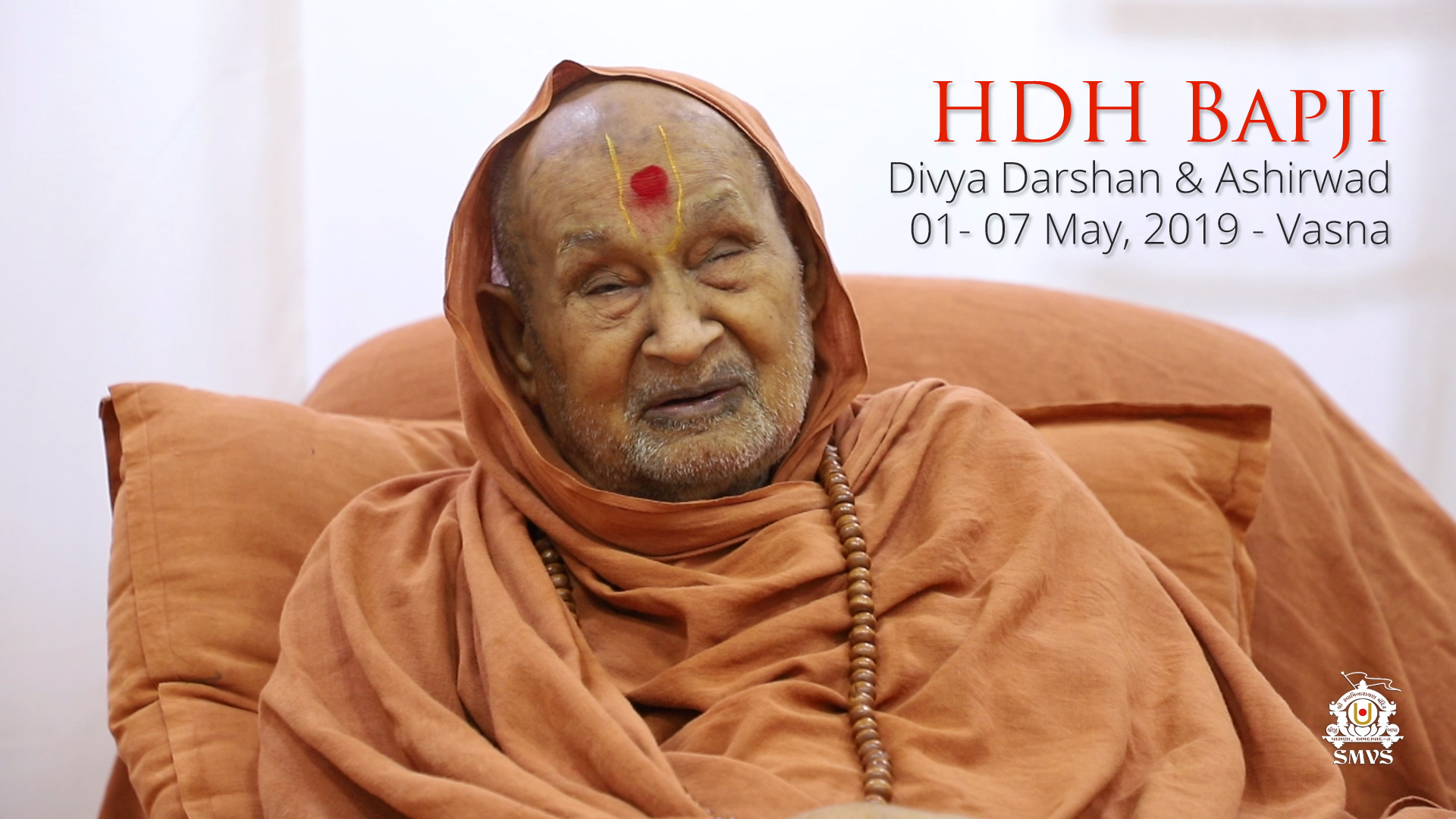 HDH Bapji Divya Darshan-Ashirwad | 01 to 07 May, 2019