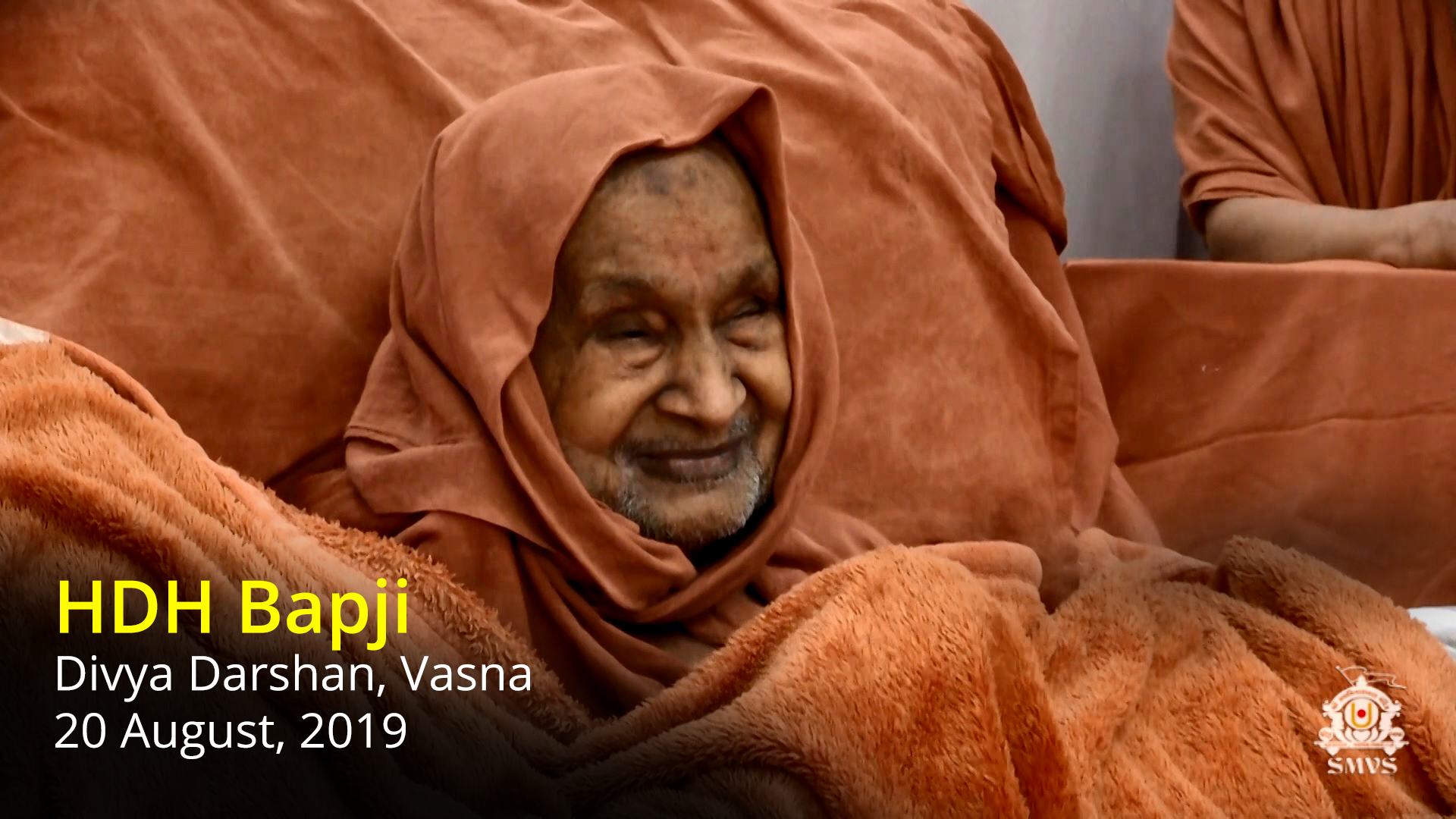 HDH Bapji Divya Darshan, Vasna | 20 August, 2019 (Video)
