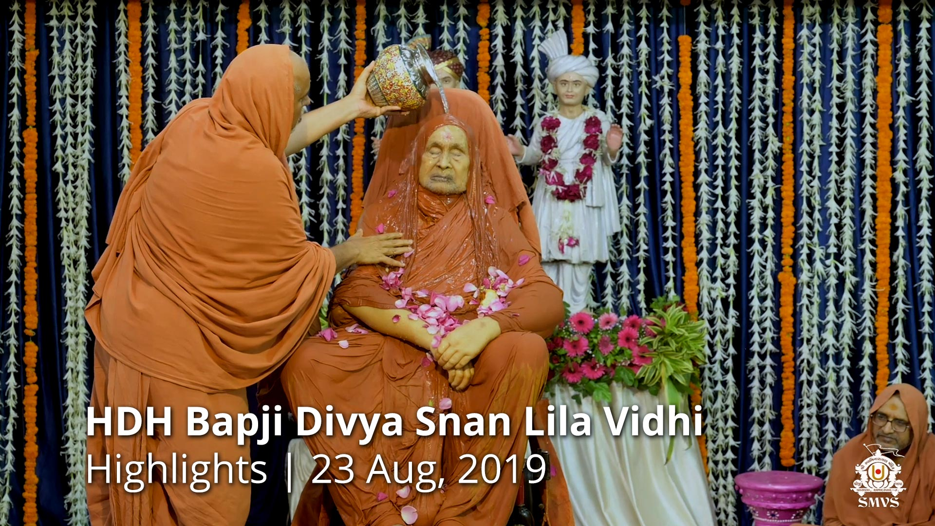 HDH Bapji Divya Snan Lila Vidhi | Highlights | 23 Aug, 2019