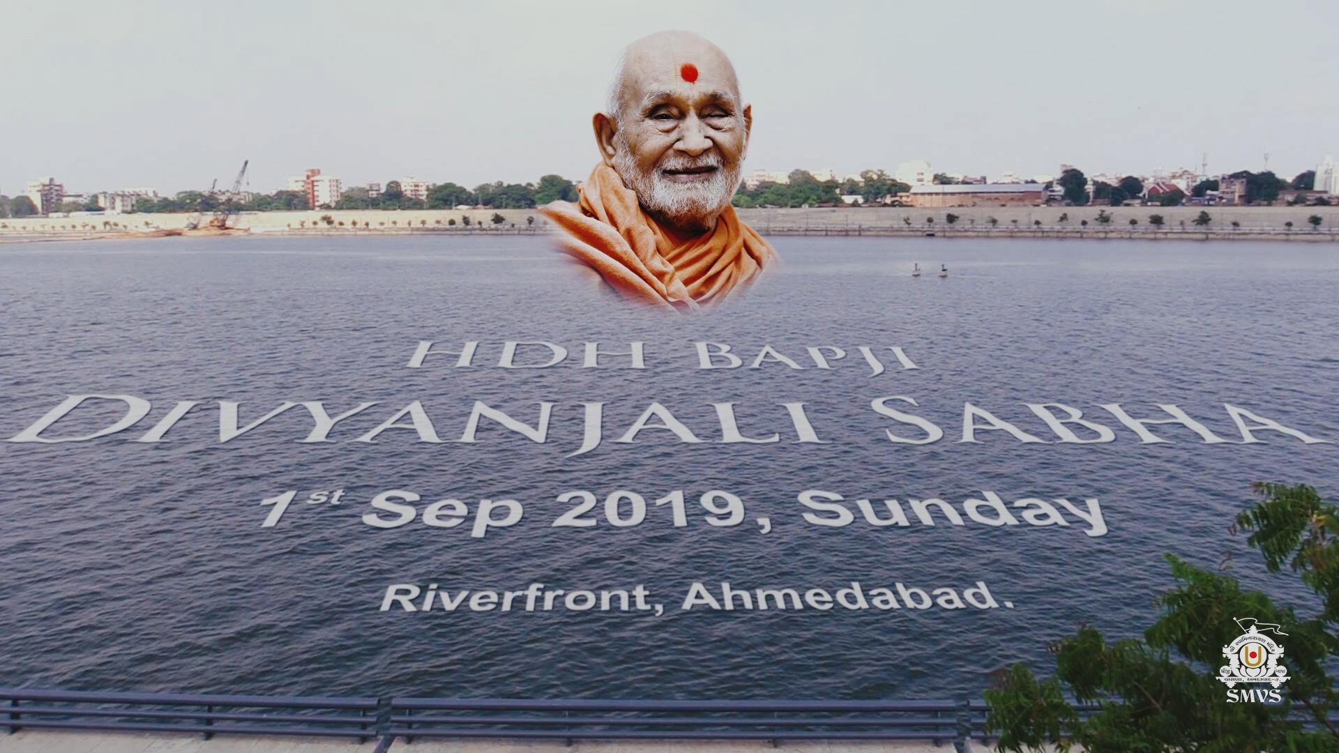 HDH Bapji Divyanjali Sabha - Riverfront, Ahmedabad | 01 Sep, 2019 | Highlights