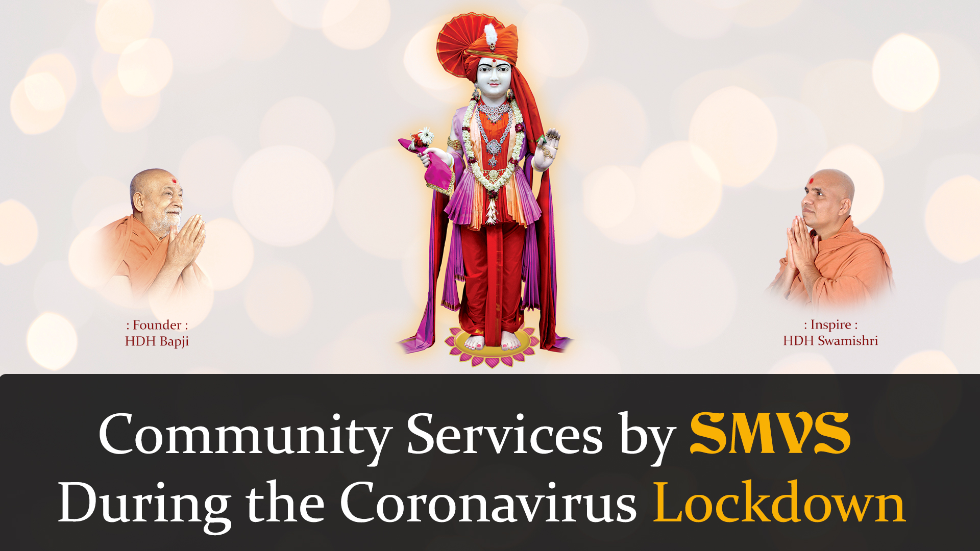 Community Services By SMVS During the Coronavirus Lockdown