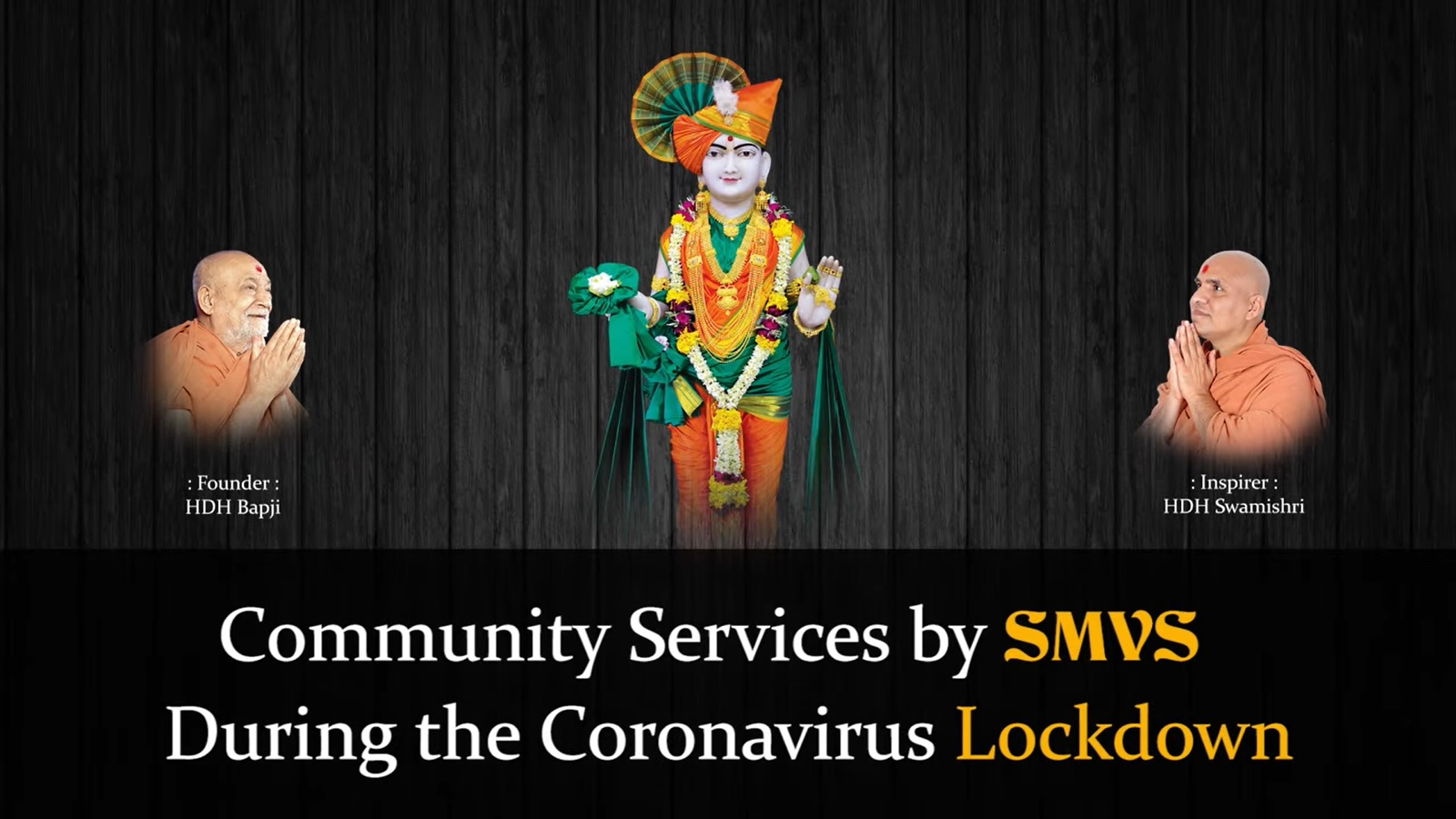 Community Services By SMVS During the Coronavirus Lockdown | Canada