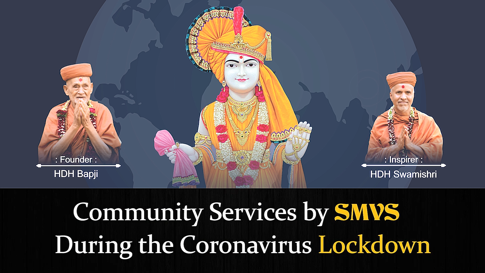 Community Services By SMVS During the Coronavirus Lockdown | UAE