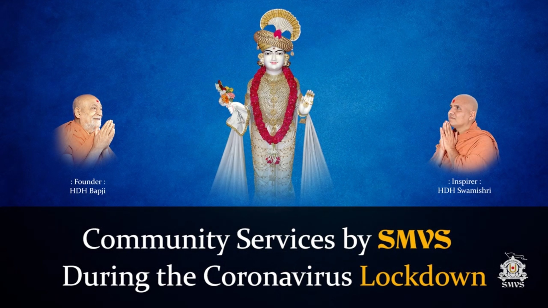 Community Services By SMVS During the Coronavirus Lockdown | Africa