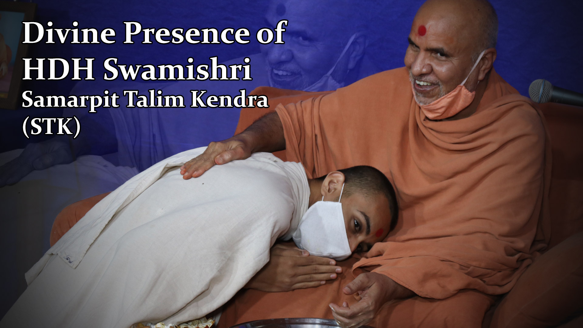 HDH Swamishri Vicharan | Divine Presence of HDH Swamishri - STK