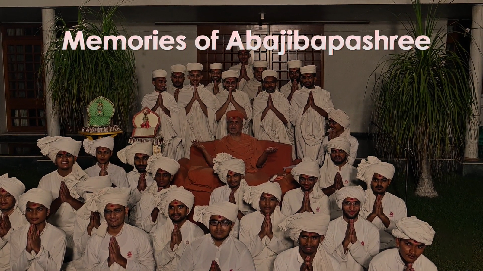 HDH Swamishri Vicharan | Memories of Abajibapashree