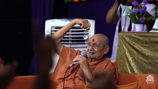 HDH Bapji Divya Darshan & Ashirwad (15-07-18)