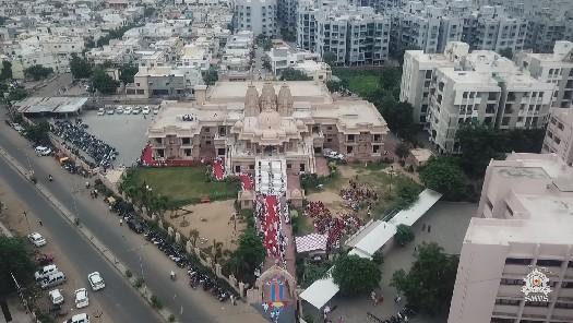 HDH Bapji Divya Darshan & Ashirwad (12-08-18)