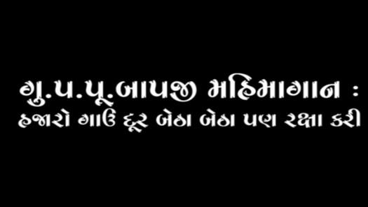 HDH Bapji Mahimagan : Hajaro Gau Dur Betha Betha Raksha Kari