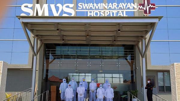 district covid hospital