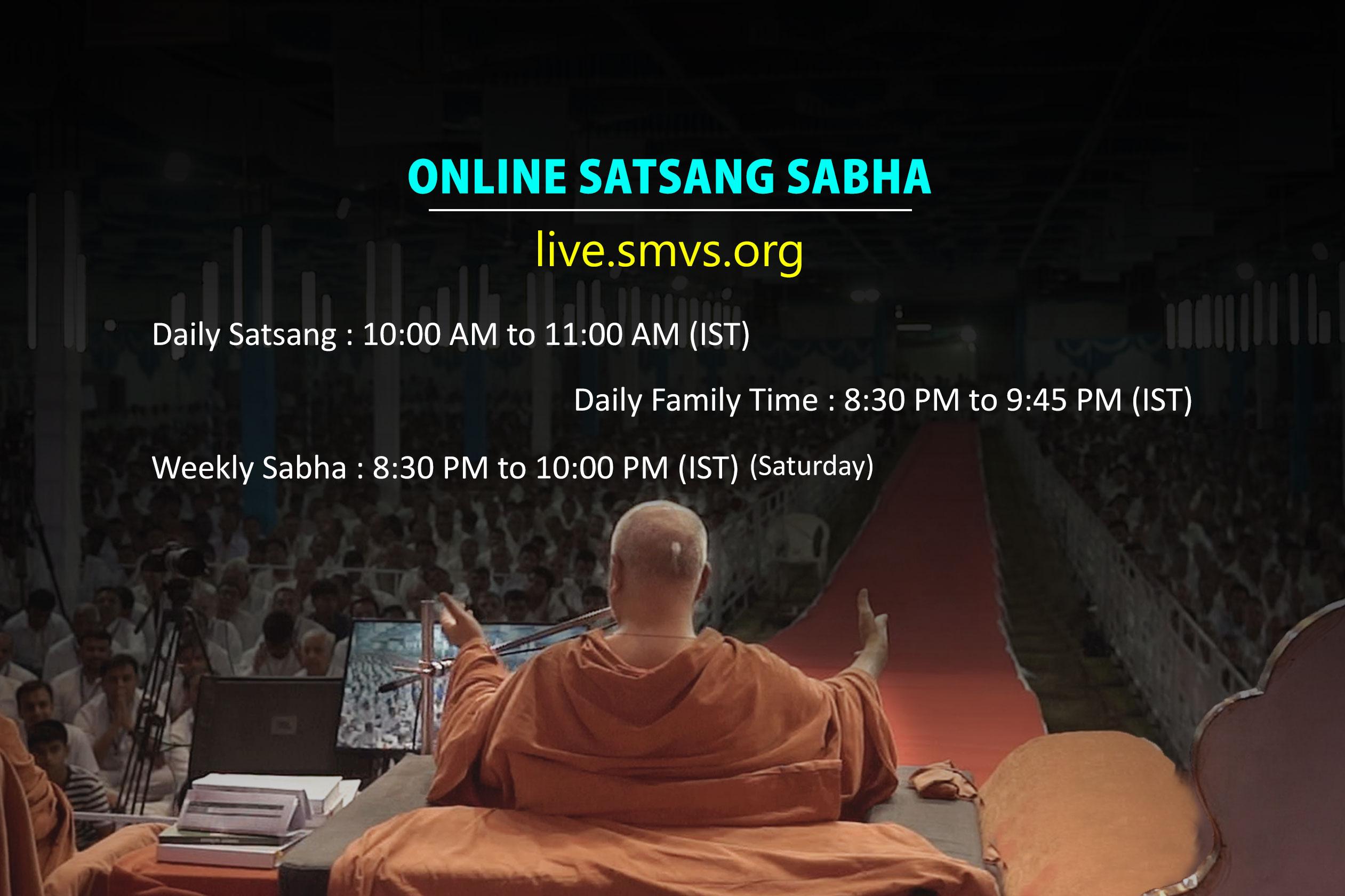 Online Satsang Sabha